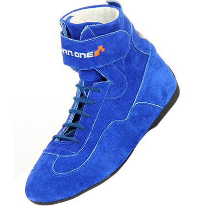 Turn One Basic Race Boots Blue