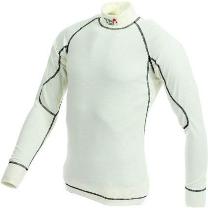 Turn One Pro Long Sleeve Top White