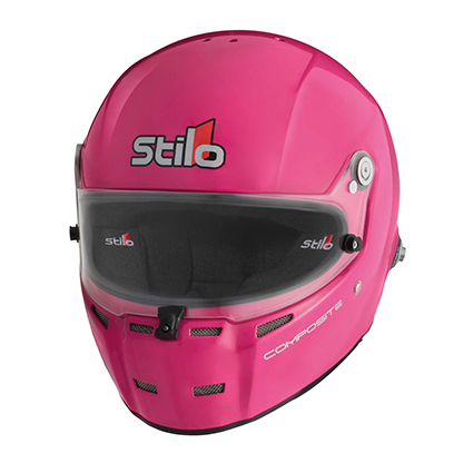 Stilo ST5R Rally Composite Helmet Pink