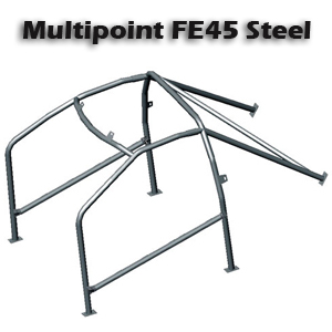 OMP AB/105P/130 FE45 Bolt In Roll Cage Peugeot 306