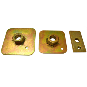 Grayston Harness Eye Bolt Back Plates (FIA)
