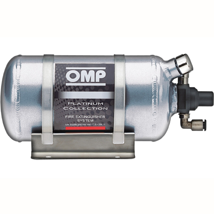 OMP Platinum Collection Electrical Fire Extinguisher System 0.90 Litre