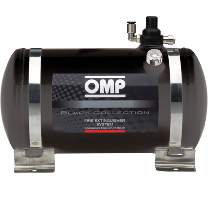 OMP Black Collection Electrical Fire Extinguisher System 4.25 Litre