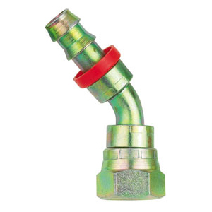 Moquip BSP 45° Steel Socketless Fittings