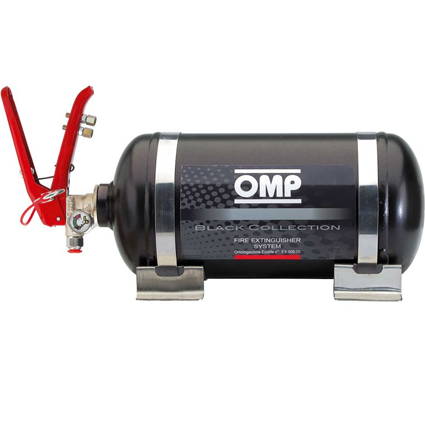 OMP Black Collection Mechanical Fire Extinguisher System 2.80 Litre