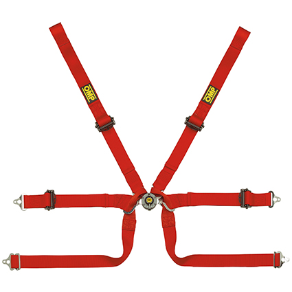 OMP 0206 HSL - Formula Pull Up 6 Point Harness