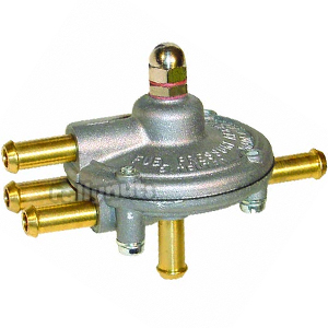 Malpassi Fuel Pressure Regulator Twin Outlet No Vacuum