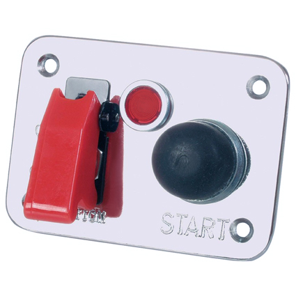 Grayston Push Start Switch Panel c/w Aircraft Ignition Switch