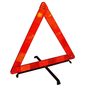 Grayston Light Weight Red Safety Triangle MSA FIA