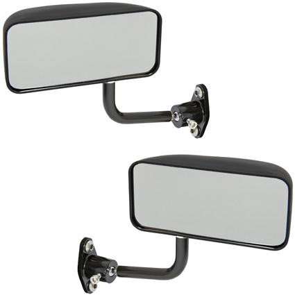 Motamec Formula 02 Wing Mirrors in Black