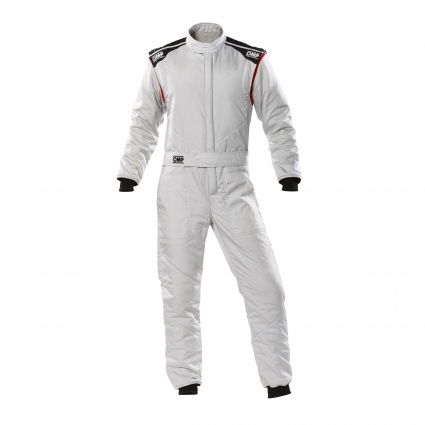 OMP First-S my2020 Race Suit Silver
