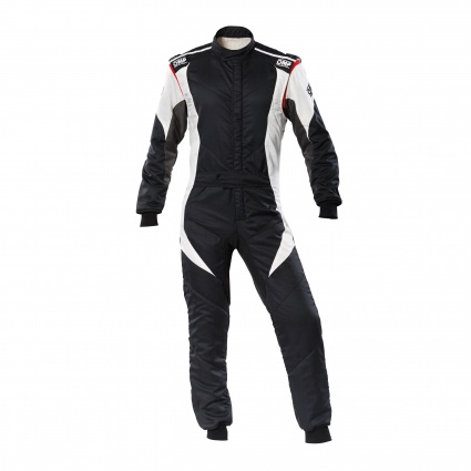 OMP First Evo my2020 Race Suit Black/White