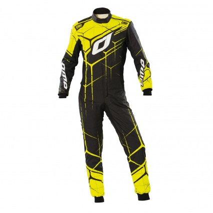 OMP One Art Suit my2020 Black/Yellow