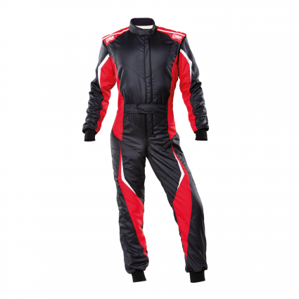 OMP Tecnica EVO Suit MY2021 Black/Red