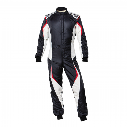 OMP Tecnica EVO Suit MY2021 Black/White