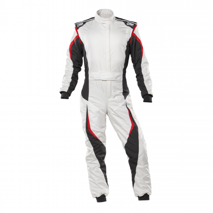 OMP Tecnica EVO Suit MY2021 White/Anthracite