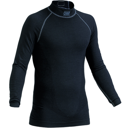 OMP One Long Sleeve Top Black