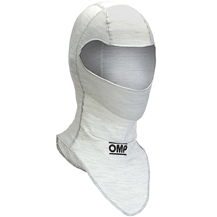 OMP One Open Face Balaclavas White