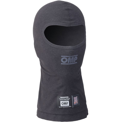 OMP Tecnica Open Face Balaclava Black L/XL
