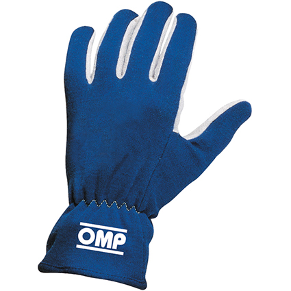 OMP Rally Gloves Blue