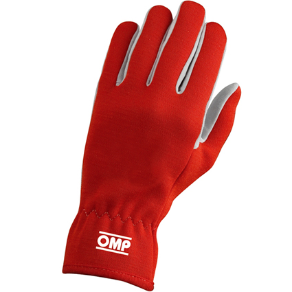 OMP Rally Gloves Red