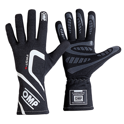 OMP First-S Gloves Black