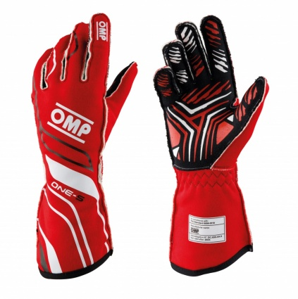OMP One-S my2020 Race Gloves Red