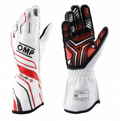 OMP One-S my2020 Race Gloves White