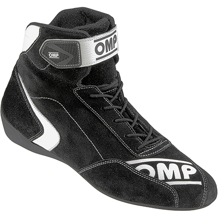 OMP First S Race Shoes Black Suede