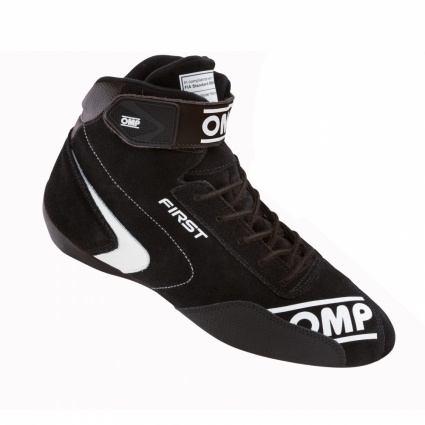 OMP First my2020 Race Shoes Black Suede