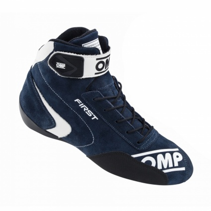 OMP First my2020 Race Shoes Navy Blue Suede