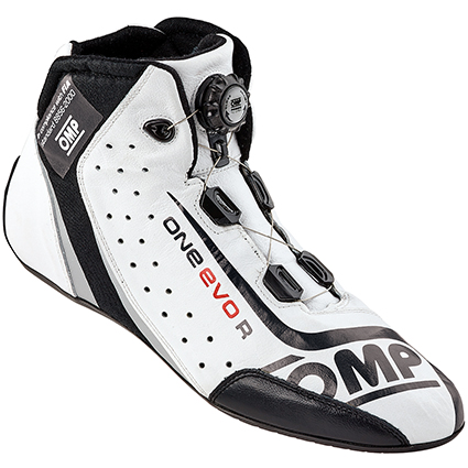 OMP One Evo Formula R Shoes White/Black (SIZE: EU 42 UK 8)