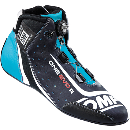 OMP One Evo Formula R Shoes Dark Blue/Cyan