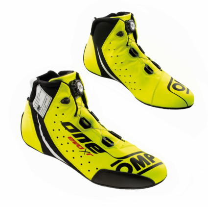 OMP One Evo X R Shoes Fluro Yellow