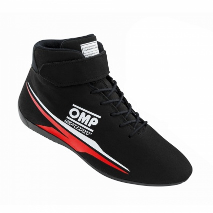 OMP Sport my2020 Race Boots Black