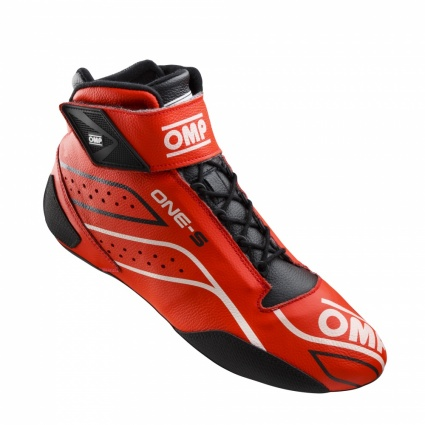 OMP One-S my2020 Race Boots Red