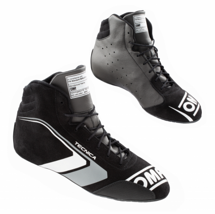 OMP Tecnica Shoes MY2021 Black/Anthracite