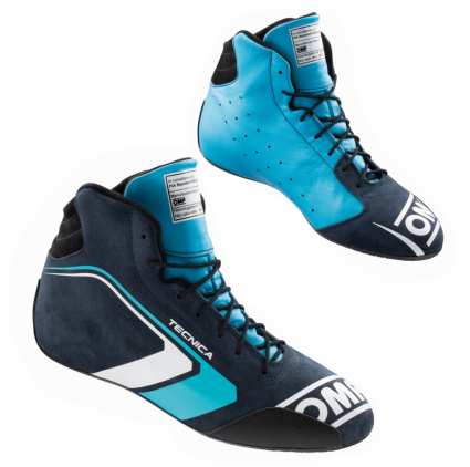OMP Tecnica Shoes MY2021 Navy/Cyan