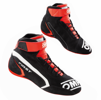 OMP First Shoes MY2021 Black/Red