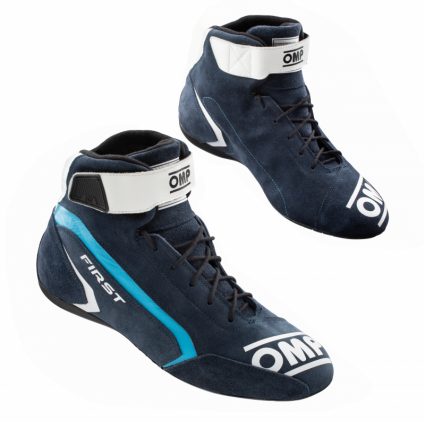 OMP First Shoes MY2021 Navy Blue/Cyan