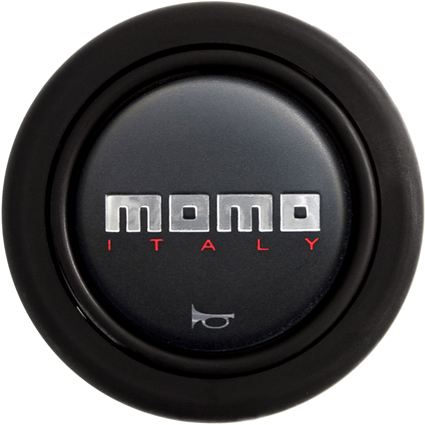 Momo Standard 2 Contact Black Horn Push