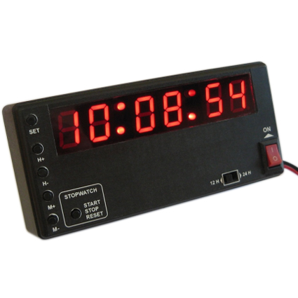 Historic Rally Time Clock 12v Digital LED