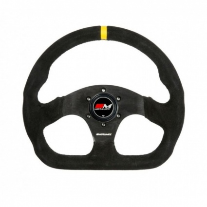 Motamec Formula Racing Steering Wheel D Shape