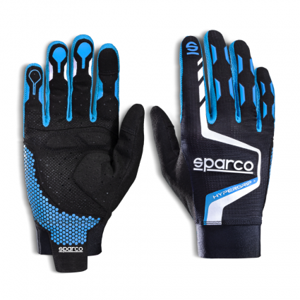 Sparco Hypergrip+ Gloves Blue