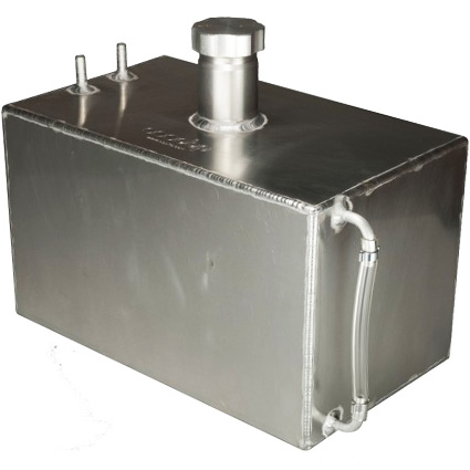 OBP 8 Gallon Baffled Aluminium Fuel Tank with Sight Tube