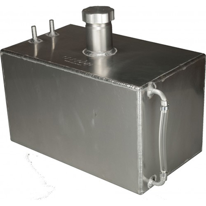 OBP 3 Gallon Square Aluminium Foam Filled Fuel Tank