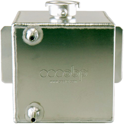 OBP Cube Push-On Top Cooling Header Tank