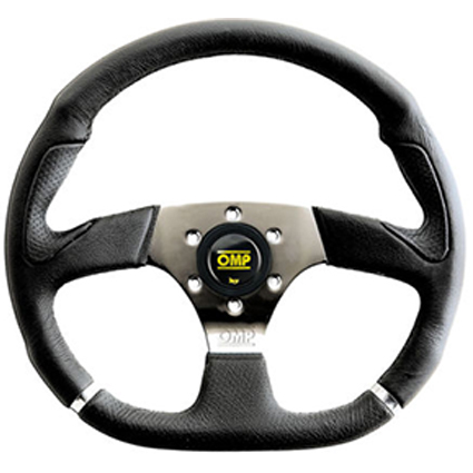 OMP Chromo Sport Wheel Black