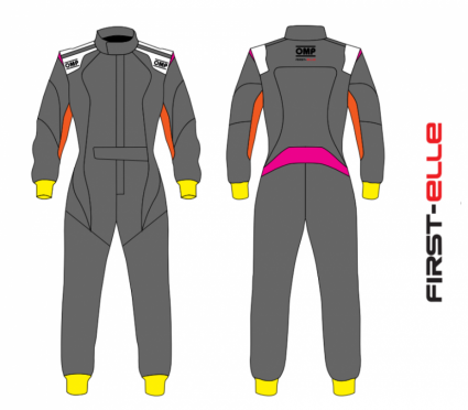 OMP First Elle Custom Race Suit