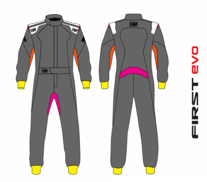 OMP First Evo Custom Race Suit